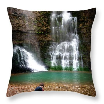 A Moment In Time Throw Pillow by Tamyra Ayles