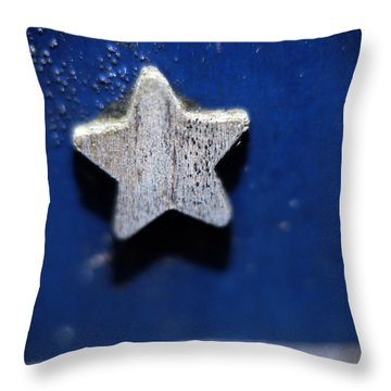A Star Reborn Throw Pillow by Cj Mainor