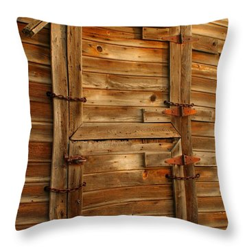 Abandoned Throw Pillow by Idaho Scenic Images Linda Lantzy