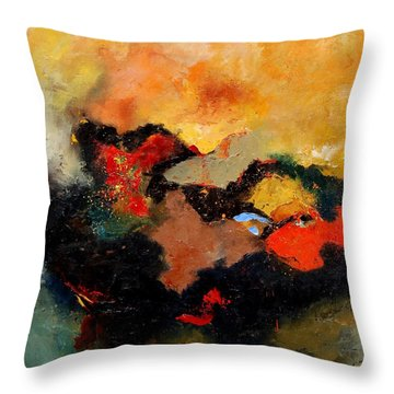 Abstract 8080 Throw Pillow by Pol Ledent