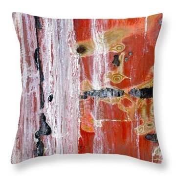Abstract By Edward M. Fielding - Throw Pillow by Edward Fielding