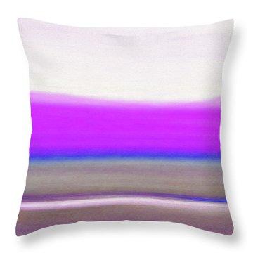 Abstract Sunset 65 Throw Pillow by Gina De Gorna