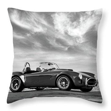 Ac Shelby Cobra Throw Pillow by Mark Rogan