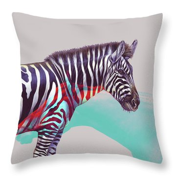 Adapt To The Unknown Throw Pillow by Uma Gokhale