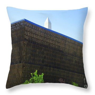 African American History And Culture 1 Throw Pillow by Randall Weidner