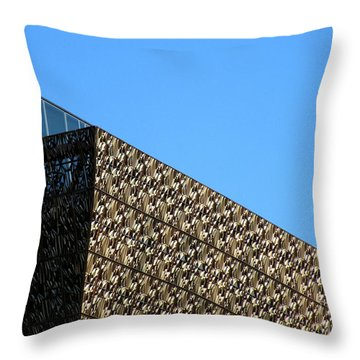 African American History And Culture 2 Throw Pillow by Randall Weidner