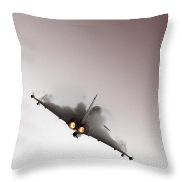 Afterburner Throw Pillow by Angel  Tarantella