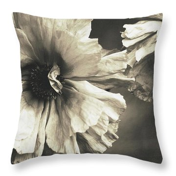 Age Of Change... Throw Pillow by  The Art Of Marilyn Ridoutt-Greene