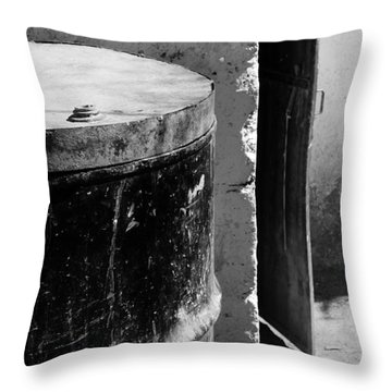 Agua Throw Pillow by Skip Hunt