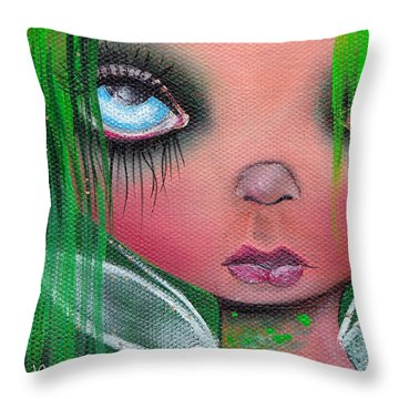Aislin Throw Pillow by  Abril Andrade Griffith
