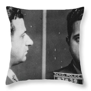 Albert Anastasia (1902-1957) Throw Pillow by Granger