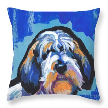 All Rhymes Pbgv Throw Pillow by Lea S