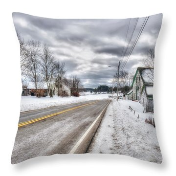 All Roads Lead To Where We Go Throw Pillow by Richard Bean