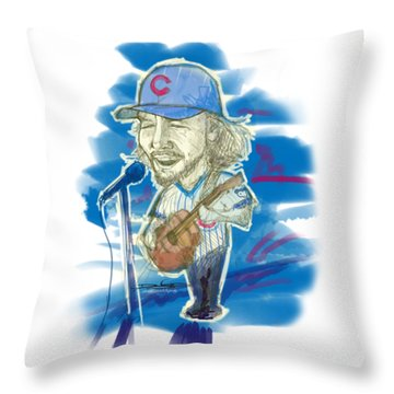 All The Way Throw Pillow by Doug  Miller II