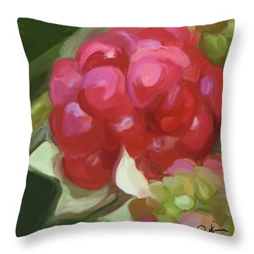 Almost There Part One Throw Pillow by Patti Siehien