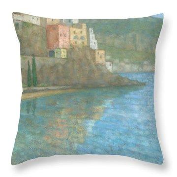 Amalfi Throw Pillow by Steve Mitchell