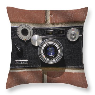 Another Brick Throw Pillow by Mike McGlothlen