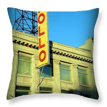 Apollo Vignette Throw Pillow by Ed Weidman