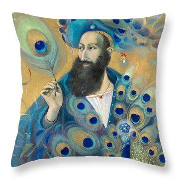 Aquarius Throw Pillow by Annael Anelia Pavlova