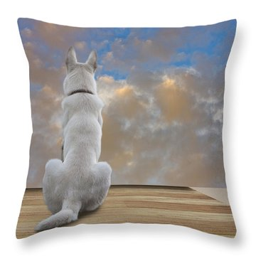 Art Appreciation Throw Pillow by Ron Jones
