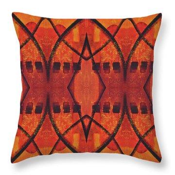 Dusk Throw Pillow by Leana De Villiers