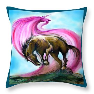 What If... Throw Pillow by Kevin Middleton