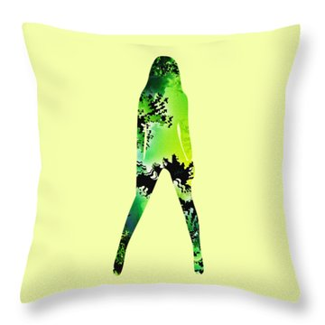 Assertive Throw Pillow by Anastasiya Malakhova