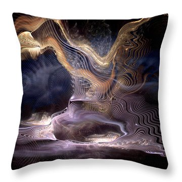 Authoring The Unpredictable Throw Pillow by Casey Kotas