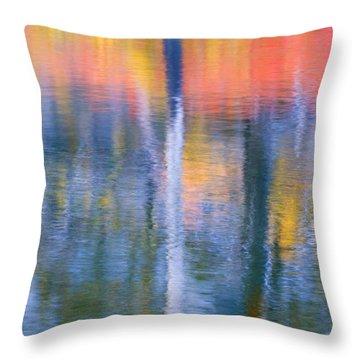 Autumn Resurrection Throw Pillow by Mike  Dawson