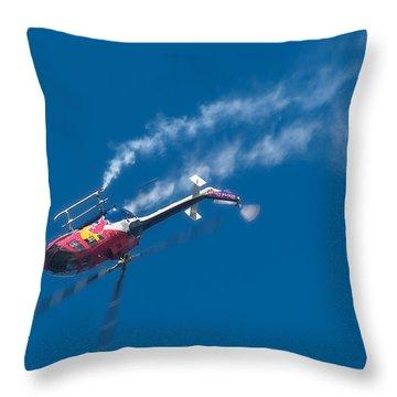 Backflip Throw Pillow by Sebastian Musial