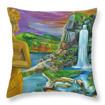 Bali Dream Throw Pillow by John Keaton