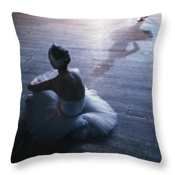 Ballet Rehearsal, St. Petersburg Throw Pillow by Sisse Brimberg