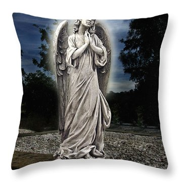 Bask In His Glory Throw Pillow by Peter Piatt