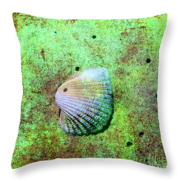 Beach Treasure Throw Pillow by Susanne Van Hulst