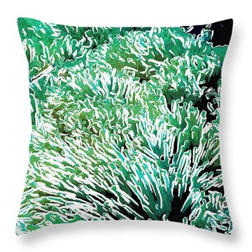 Beautiful Coral Reef 2 Throw Pillow by Lanjee Chee