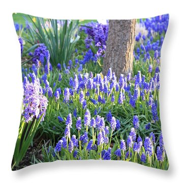 Beautiful Spring Day Throw Pillow by Carol Groenen