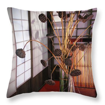 Beauty In Death Throw Pillow by Eena Bo
