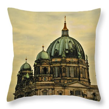 Berlin Architecture Throw Pillow by Jon Berghoff