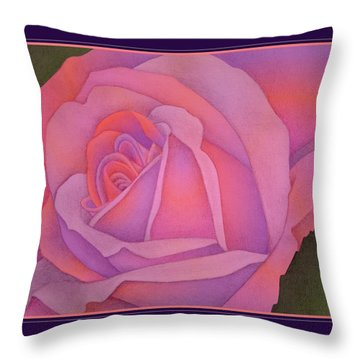 Beyond The Wall Throw Pillow by Jane Alexander