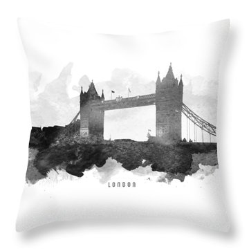 Big Ben London 11 Throw Pillow by Aged Pixel