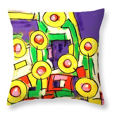 Blame It On The Bossa Nova Throw Pillow by Tim Ross