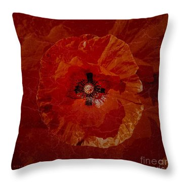 Bloody Mary Throw Pillow by Mona Stut