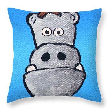 Bobby Bernstein Throw Pillow by Jera Sky