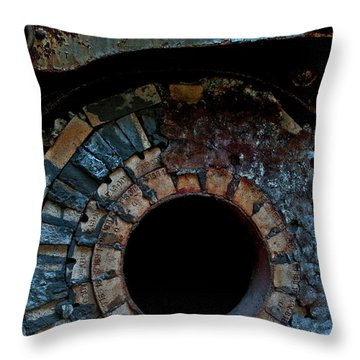 Boiler Throw Pillow by Murray Bloom