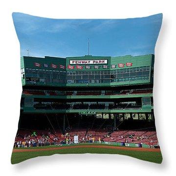 Boston's Gem Throw Pillow by Paul Mangold