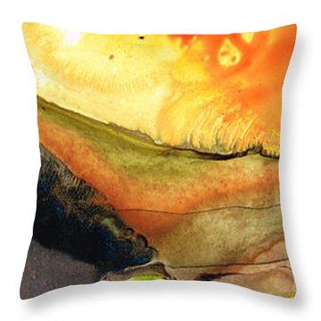 Bridging The Gap Throw Pillow by Sharon Cummings