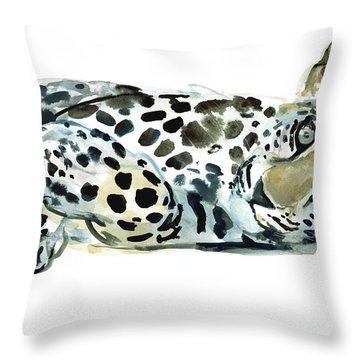 Broken Siesta Throw Pillow by Mark Adlington