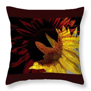 Bursting With Joy Throw Pillow by Lenore Senior