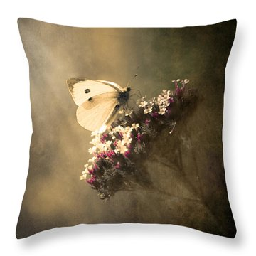 Butterfly Spirit #01 Throw Pillow by Loriental Photography