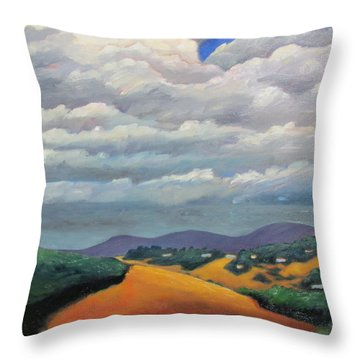 Ca Cloudscape Throw Pillow by Gary Coleman